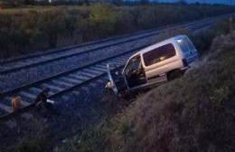 El conductor resultó herido.