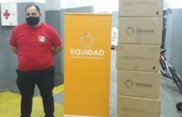 La Banda Infanto Juvenil recibió la donación de seis computadoras