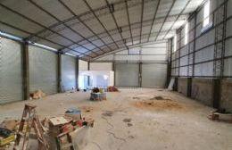 Avanza la construcción del Destacamento de Bomberos en Ramallo