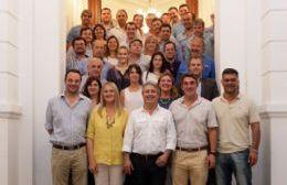 El intendente de Pergamino reunió a referentes del PRO de la Segunda Sección