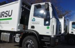 Presentaron los nuevos camiones recolectores