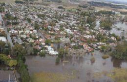 El noreste de la provincia de Buenos Aires, seriamente afectado por las intensas lluvias. (Imagen ilustrativa).