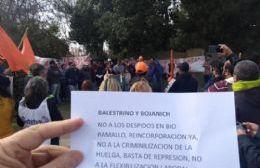 Trabajadores despedidos de Bio Ramallo escracharon a los propietarios