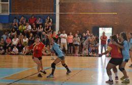 El handball pisa fuerte en la región.