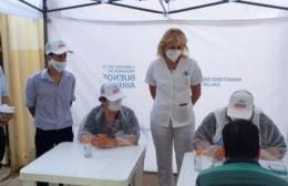 Llegan vacunas y se retoma la campaña