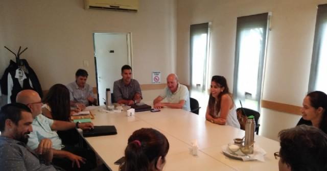 Reunión en COMIRSA por la tasa de seguridad e higiene
