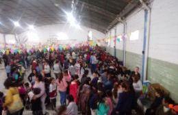Villa General Savio festejó el Día del Niño