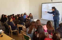 Charla de educación vial en Villa General Savio