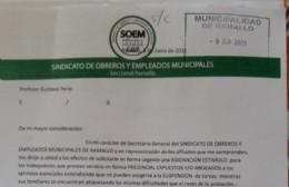 Piden bono de 15 mil pesos para empleados municipales