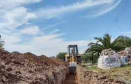 La Municipalidad extendió la red de agua en el barrio El Triángulo