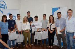 Entrega de premios del concurso Gen Técnico Makers