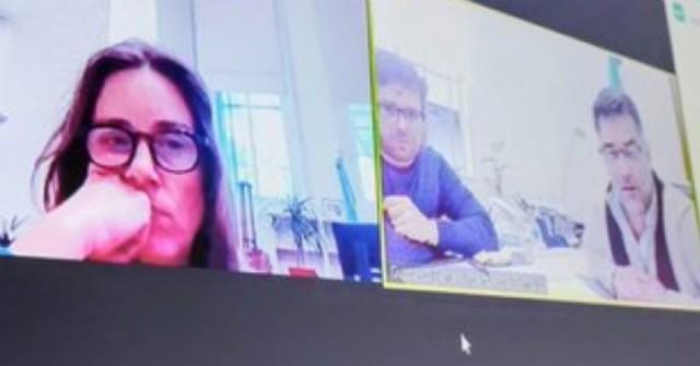 Avanzan en los sistemas de educación: reunión virtual entre Agustina Vila y Gustavo Perié