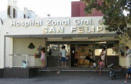 Se encuentra internado en el Hospital San Felipe.