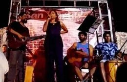 La cantante Graciela Carabajal se presentará en el evento. (Imagen ilustrativa).