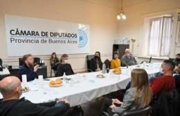 Concejales se reunieron con diputados provinciales