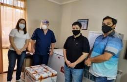 La Municipalidad recibió las vacunas y comenzó a preparar todo para recibir al personal esencial