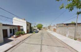 Esta es la calle donde sucedió el hecho.