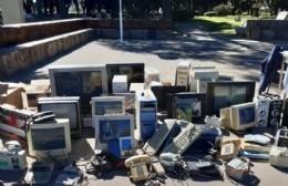 Se realiza una nueva recolección de residuos eléctricos