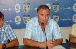 El Jefe Comunal Poletti en conferencia de prensa