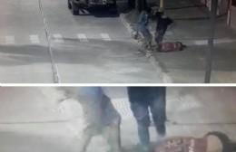Terrible golpiza de dos menores a un malabarista en Pergamino