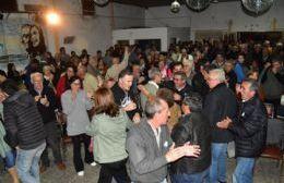 Más de 300 personas se dieron cita en el Club Marinero Panno.