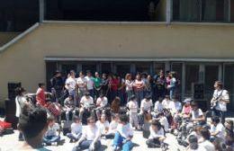 Entusiasmo de los alumnos.
