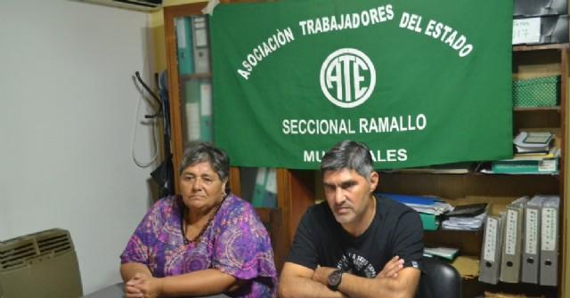 """Lescano: """"Personal en la calle es un límite para nosotros"""""""