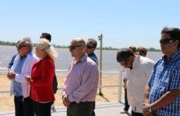 Ceremonia en el Parador Municipal.