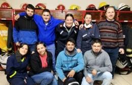 Ramallo sumó nueve bomberos voluntarios