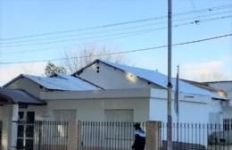 Avanza el recambio de techo de la salita de Pérez Millán