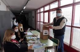 Ramallo: ya votaron los principales precandidatos y el intendente Perié