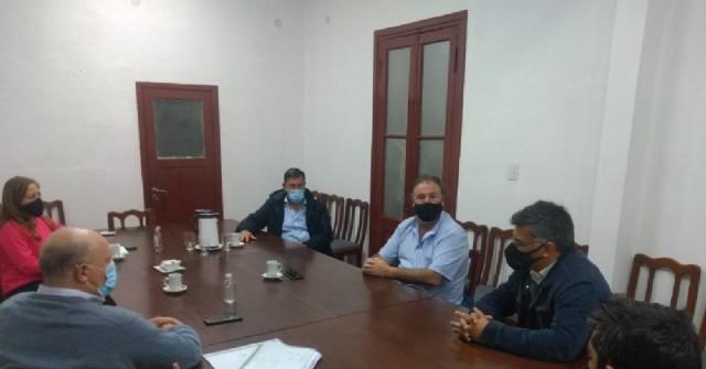 Perié se reunió con la Región Sanitaria IV para dar seguimiento a los casos de Covid-19