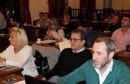 El bloque FpV-PJ dentro del Concejo Deliberante está claramente dividido.