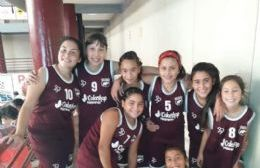 Las chicas del básquet.