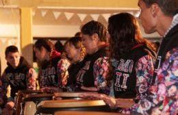 Los alumnos de la Secundaria Nº 7 de orientación Arte-Música están sumamente agradecidos.
