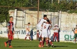 Fue 1 a 0 con gol de Franco Coronel.