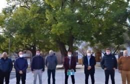 Reunión de jefes comunales en Salto.