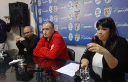 Conferencia de prensa del intendente.