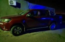 Apareció en San Nicolás la camioneta del robo en zona rural de Ramallo