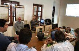 Durante la reunión, también se presentó el programa de Gestión Documental de Expedientes.