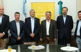 El intendente de Pergamino Javier Martínez recibió a funcionarios nacionales del Ministerio de Agroindustria, quienes dialogaron sobre diferentes programas y propuestas para la región.