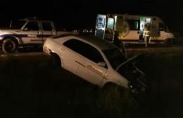 Choque en la autopista: dos heridos