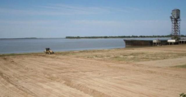 Ramallo se encuentra acondicionando la costa