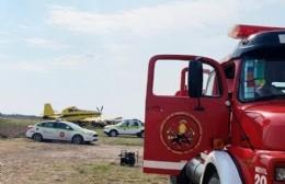 Bomberos de Ramallo colaboraron en el combate a los incendios en las islas