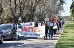 Marcha en reclamo de mejoras en el sistema de salud municipal