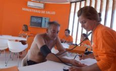 Control arterial en Mar del Plata.