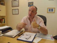 El senador Marcelo Carignani, autor de la iniciativa.