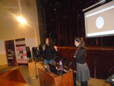 Andrea Vargas y Gabriela Snaidas brindaron una charla sobre esta tem�tica.