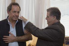 Daniel Scioli y Alejandro Collia.