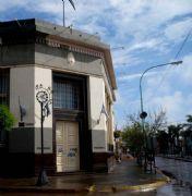 El lugar elegido es la esquina del Banco Naci�n de Villa Ramallo, punto caracter�stico de la ciudad.